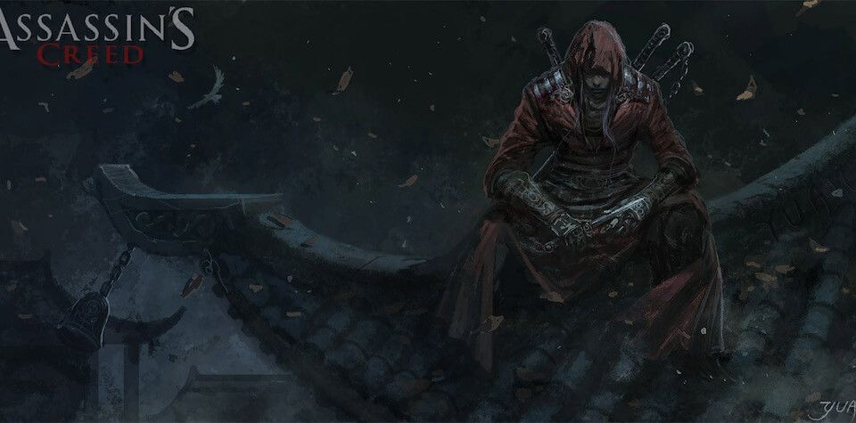 Gr Pick Assassin S Creed Ancient China Fan Art Mass Effect