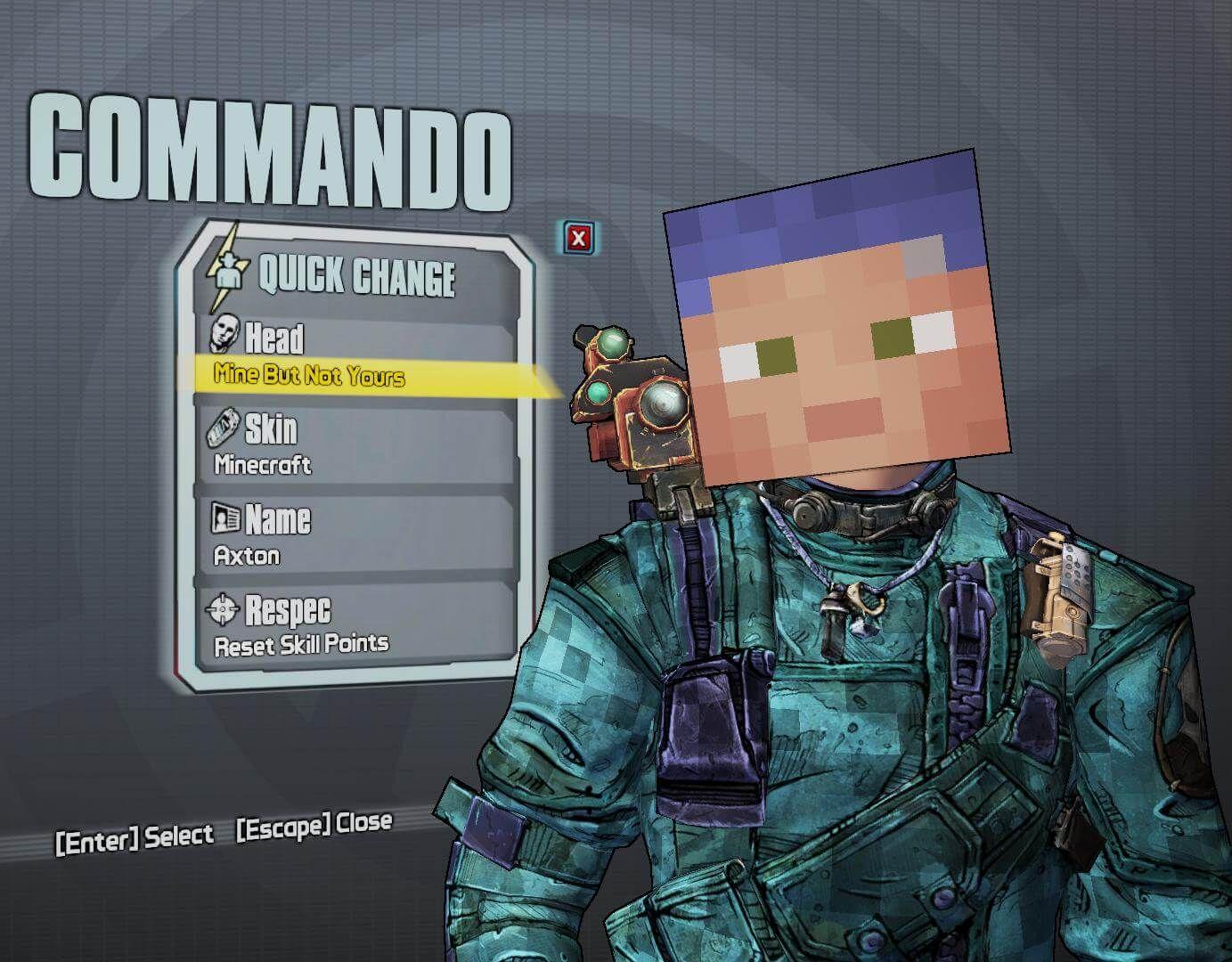 Minecraft Meets Battlefield 3 Borderlands 2 Game Rant