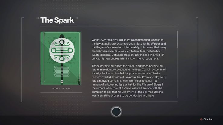 Destiny 2: How to Get the Variks Most Loyal Books for
