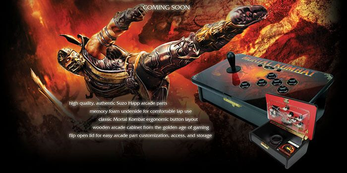 PS3 Fight Stick Compatible with 'Mortal Kombat X' for PS4