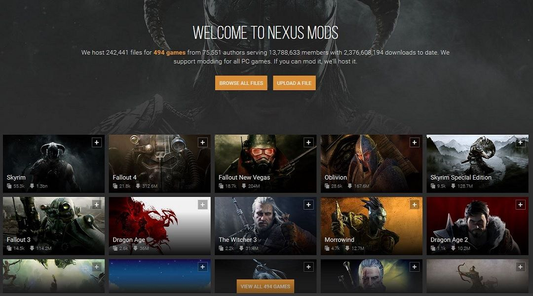 Nexus Mods Adding New Donation System to Pay Modders   Game Rant
