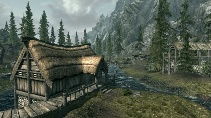Rebuilding Skyrim With Mods: Gleaming Falls, Riverwood House