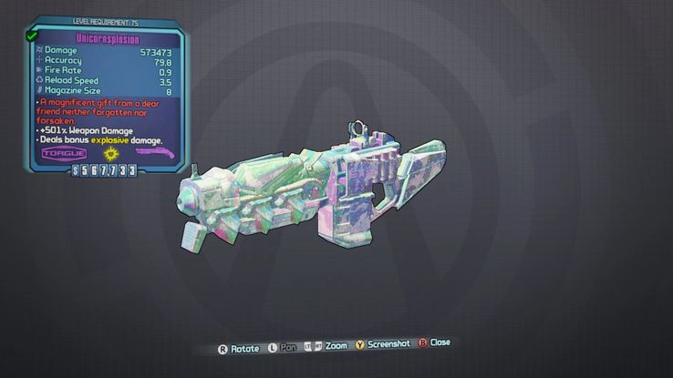 Borderlands 2: How to Get the Unicornsplosion Rainbow Shotgun