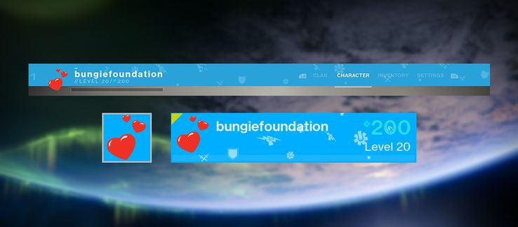 Bungie Selling Pin with Destiny 2 Emblem for Houston Disaster Relief
