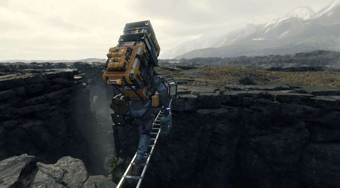 Image result for death stranding ladder