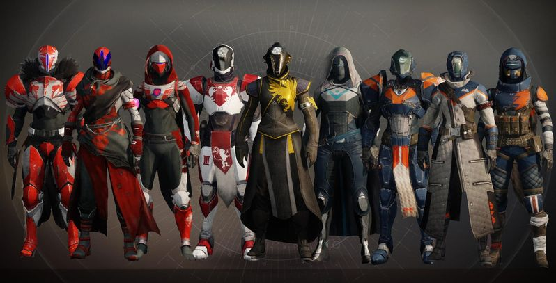 Here Are Destiny 2's Nine Beta Armor Sets | Game Rant