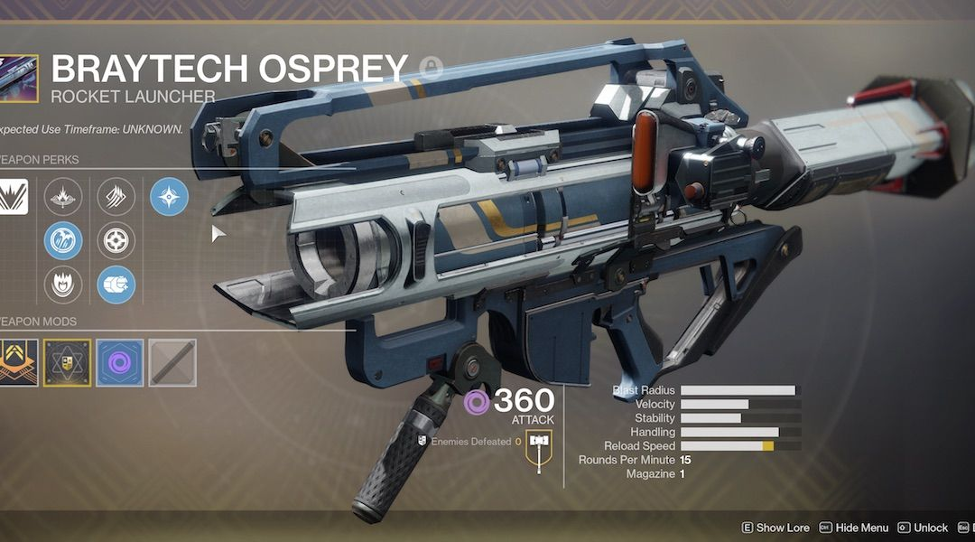 Destiny 2: How to Farm the Braytech Osprey from Strange