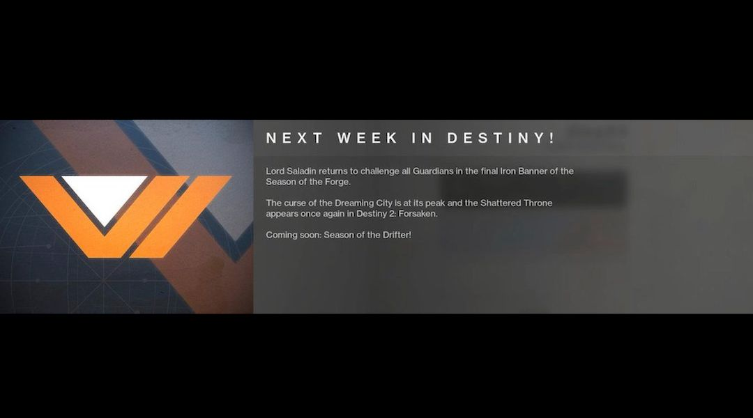 Destiny 2 Introducing Weekly Message Board as Regular Feature