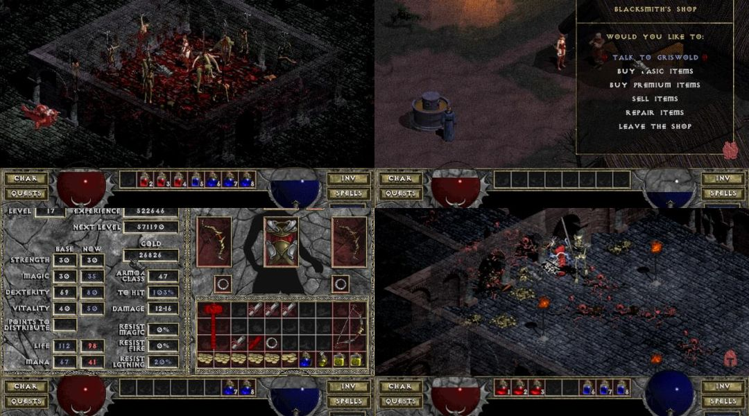 Original Diablo Warcraft And Warcraft 2 Re Released By Blizzard