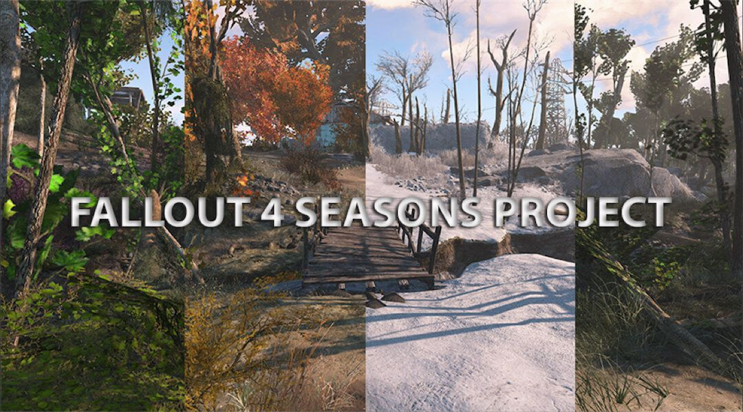 Fallout 4 Seasons Mod Adds New Weather | Game Rant