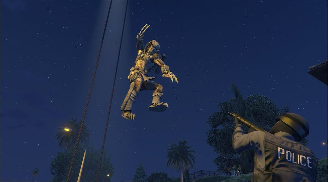 Grand Theft Auto 5 Mod Adds the Predator | Game Rant