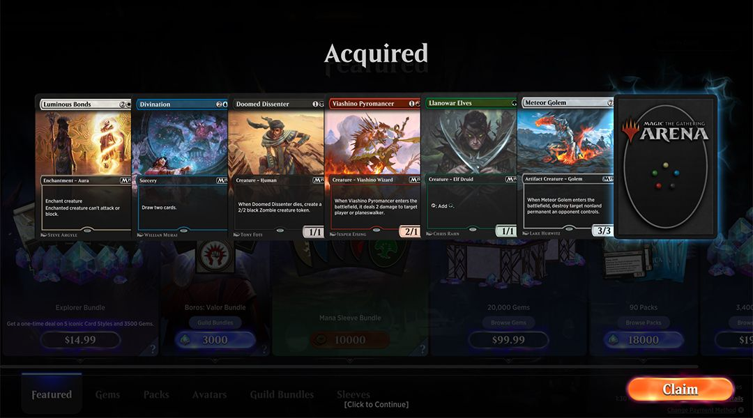 Magic Arena: Every Free Redeem Code Available | Game Rant