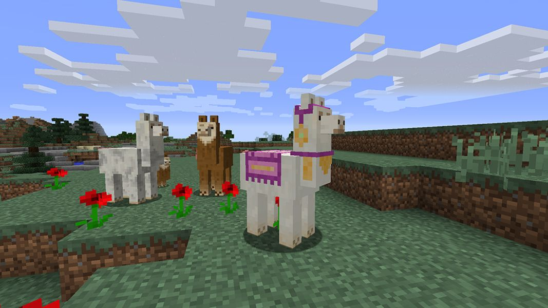 Minecraft 1 11 Update to Add Llamas, Mansions, and Maps