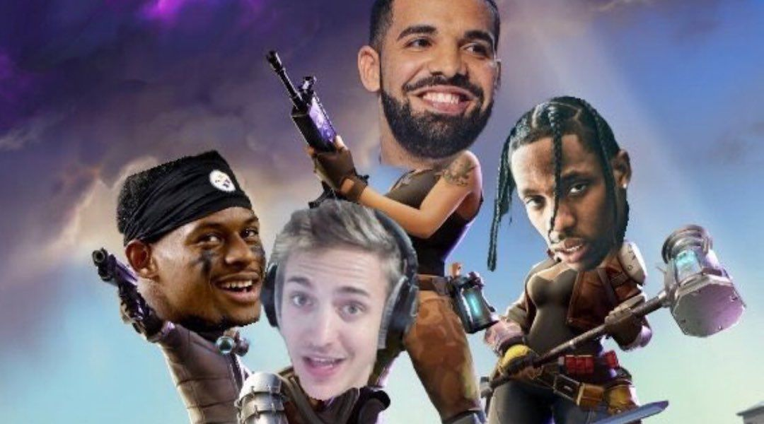 Ninja Breaks Twitch Record Playing Fortnite with Drake