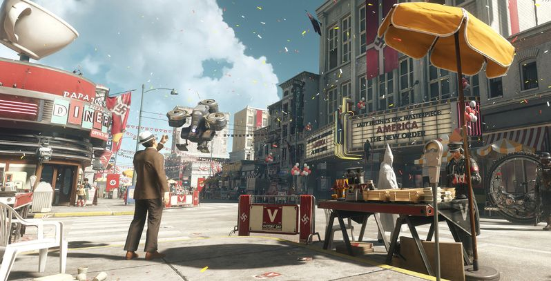 Wolfenstein 2 Gameplay Delivers a Nuke | Game Rant